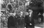 Выпускники ядерного отделения 1952 год. Третий слева В.Ф. Алексин