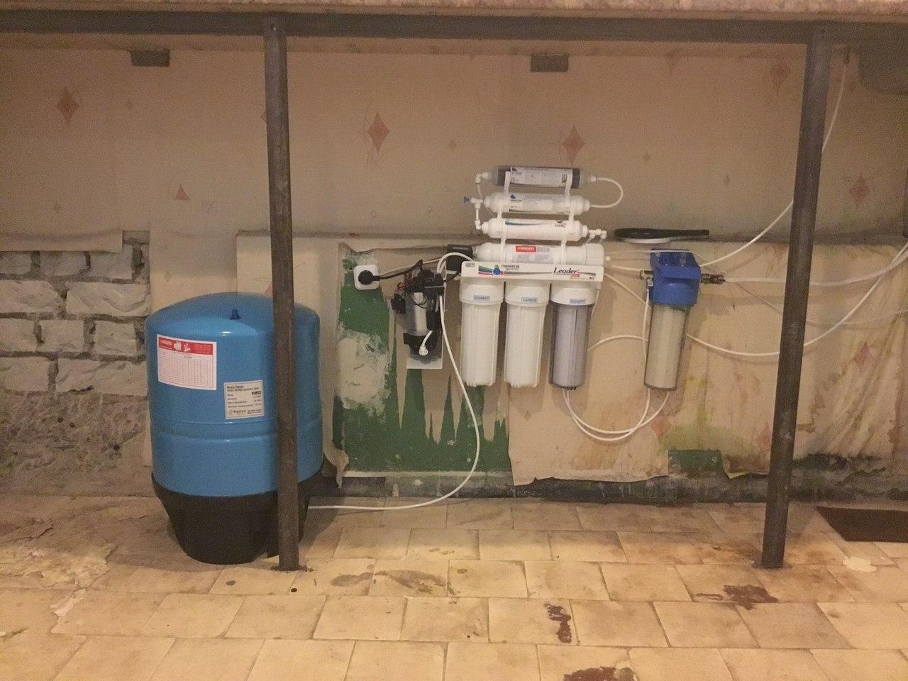 Фильтр для воды на ФТФ