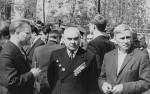 1 мая 1967 года. А.М. Блинкин, М.Н. Макаров, Г.А. Милютин