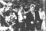 проводи до війська, 1982-5 р.р.до війська випроводжає В.Т.Грицина