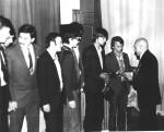 проводи до війська, 1982-5 р.р.до війська випроводжає М.М.Макаров