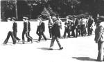 проводи до війська, 1982-5 р.р. до війська випроводжає В.Т.Грицина