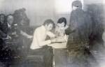Ноябрь 1985 года. Подписание государственного распределения Пивоваром Виктором. Главный корпус ХГУ