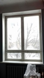 Окно в коридоре на 4м этаже