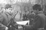березень 1982 р. Випуск 1982 року на зборах в Артемівську