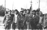 1976 рік, СБЗ «Фотон» у Кустанайській області, Урицький район, п'ятий від права – М.О.Азарєнков
