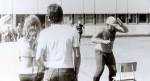 Июль – август 1982 года. Интеротряд ХГУ в г. Берлине. Выходной. Соревнования с немецкими товарищами в скорости выпивания пива на бегу. От Харькова выступает Гринёв Борис