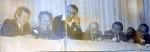 День физтеха 1984. В президиуме студент выпуска 1985 года Костенко Виталий и преподаватели – Кондратенко Анатолий Николаевич, Зима Владимир Григорьевич, Ходусов Валерий Дмитриевич, Приходько Владимир Иванович, Кирочкин Юрий Алексеевич