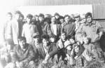 вересень 1990 року. М.Р. Беляєв і першокурсники в радгоспі «Новоархангельська слобода», Херсонська область