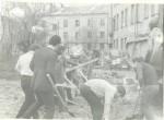 1973 р. Суботник у П'ятихатках, на місці майбутнього бульвару Миру