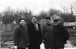 1985 р. На сільгосп роботах: Адаменко І.М., Грицина В.Т., Гопич П.М., Зима В.Г.