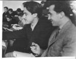 1959 рік. І.М.Адаменко слухає лекцію