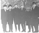 січень 1972 року. Зустріч теоретиків випуску 1961 року: Омелаєнко, Сименог, О.С.Бакай, Льовшин, І.М.Адаменко, В.Рожков