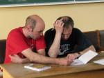 дози з вищої алгебри приймає в Г.Цинкуша І.В.Павленко