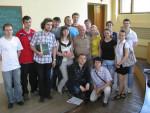 2011год. Доцент Ю.А. Кирочкин со студентами