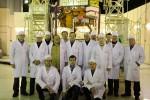 січень 2009 р. Розробники наукової космічної апаратури космічного апарату «Коронас-Фотон» після проведення передстартових випробувань на космодромі «Плесецьк»