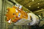 січень 2009 р. Космічний апарат «Коронас-Фотон» з приладом СТЕП-Ф на борту готовий до польоту. Місто Мирний, Архангельська область