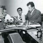 1979 р. І.І. Залюбовський зі співробітниками кафедри П. М. Гопичем і А. В. Кузніченком