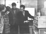 1981 р. Лабораторні заняття проводить А.І.Великодний