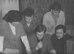 1979 р. Т.І.Войценя в лабораторії електроніки