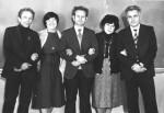 1982 р. В.І.Муратов, О.І.Дементій, А.М.Кондратенко, Т.І.Войценя, В.Т.Грицина
