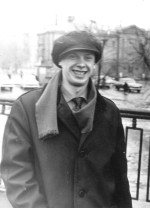 1967 год. Ю.В. Сидоренко – студент ФТФ