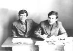 1977р. Першокурсники брати С.М. і О.М.Слєпцови