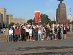 1 вересня 2007 р. Посвячення в студенти. 1 курс ФТФ
