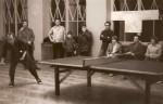 1977 г. Сухуми. Международный дружеский матч по настольному теннису СССР-Нидерланды. Стоят: второй – Дмитрий Войтенко, пятый – Эдуард Ломакин.