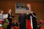 вручення мантії почесного доктора університету І.М.Неклюдову
