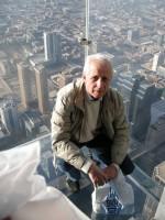 Чикаго 2009 г. Sky Tower 100-й этаж (400 метров от земли). Г.Т.Адонкин